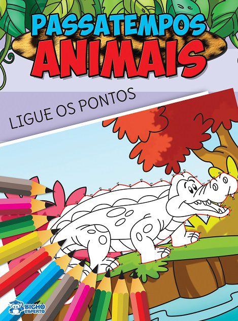 Passatempos Animais - LIGUE OS PONTOS
