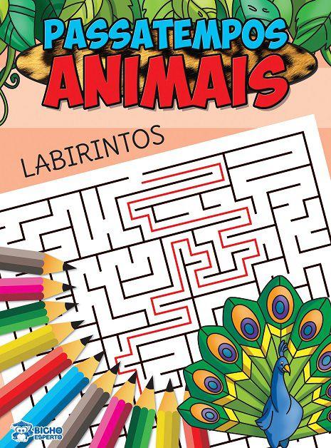 Passatempos Animais - LABIRINTO