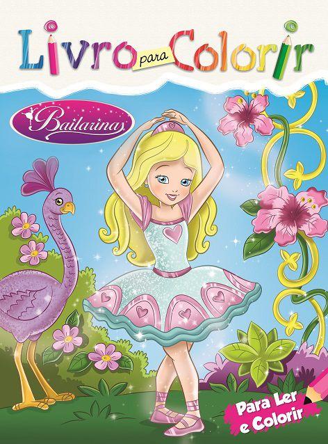 Livro para Colorir: BAILARINA