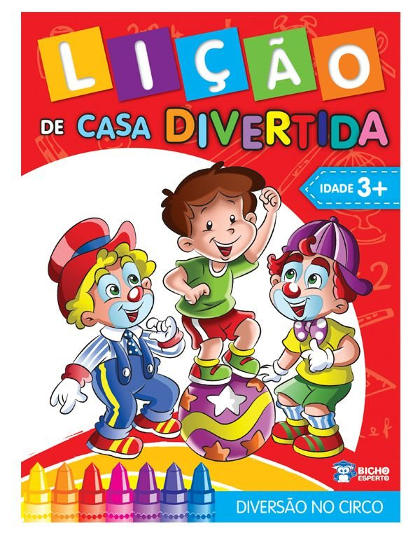 Licao de Casa Divertida MAT.1 DIVERSAO NO CIRCO