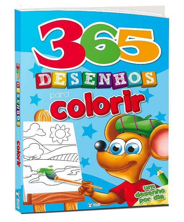 365 desenhos para colorir