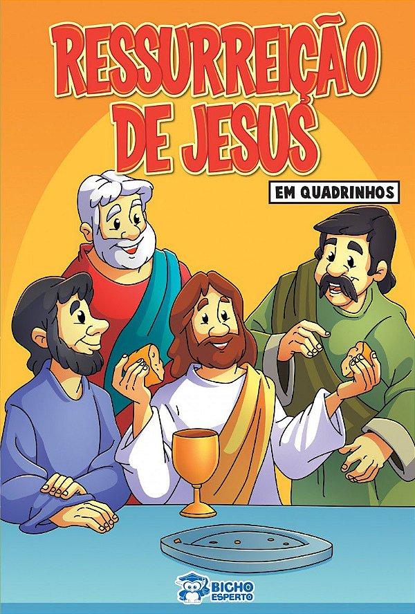 Em quadrinhos Biblia - RESSURREICAO DE JESUS COM 10 VOLUMES IGUAIS