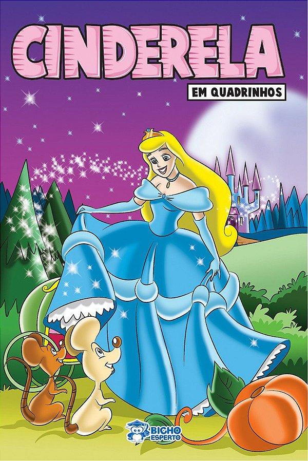 Em quadrinhos - CINDERELA - PACOTE COM 10 VOLUMES IGUAIS