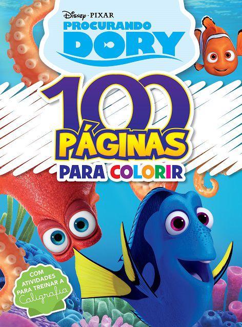 100 Páginas para Colorir Disney Pixar - PROCURANDO DORY