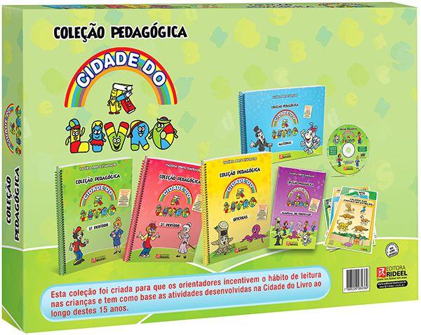 Coleção Pedagógica Cidade do Livro