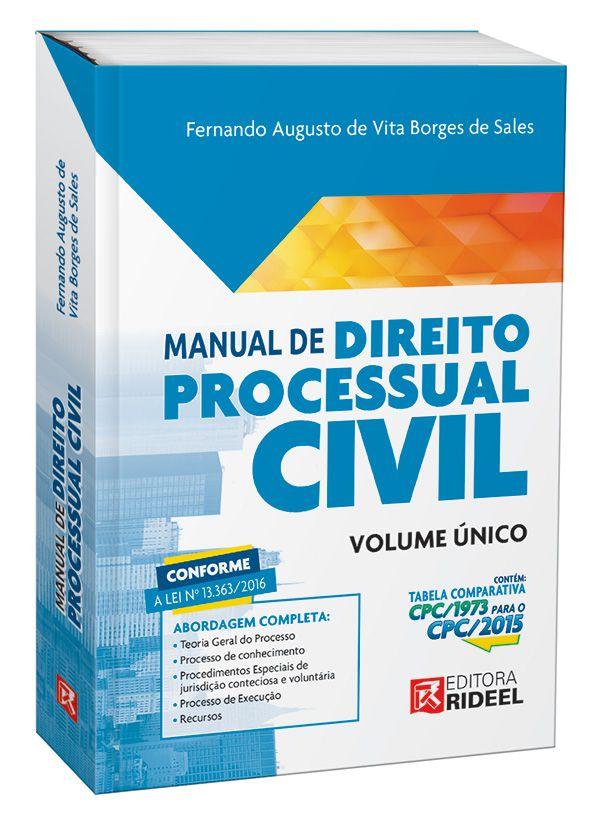 Manual de Processo Civil - 1ª edição