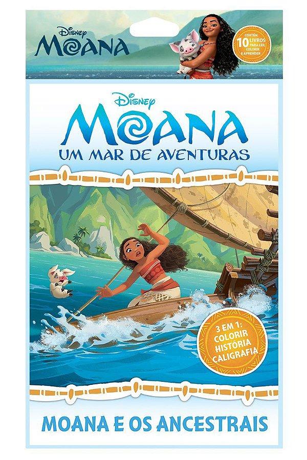 Disney Solapa Grande Colorir - MOANA