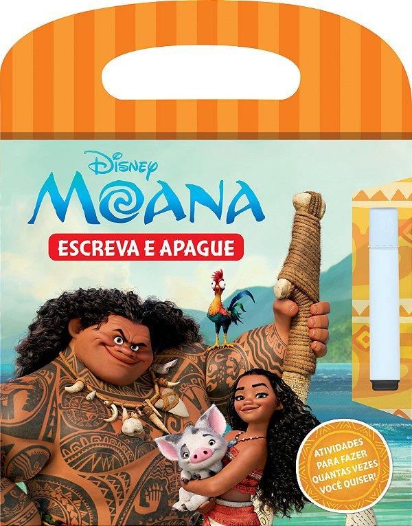 Disney Escreva e Apague - MOANA