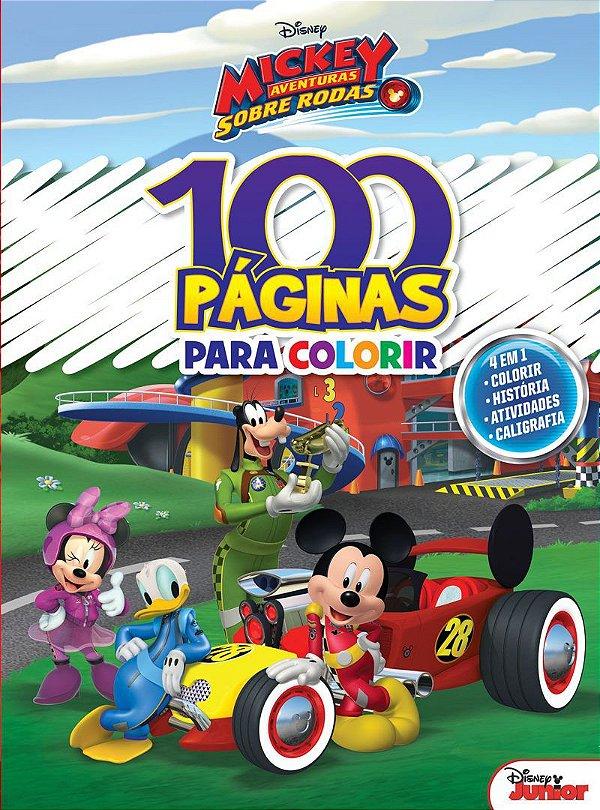 100 Páginas para Colorir Disney - MICKEY