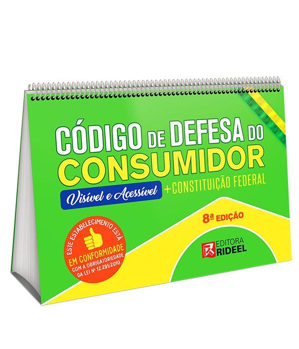 Código de Defesa do Consumidor – Visível e Acessível - 8ª edição