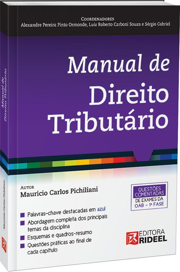 Manual de Direito Tributario 1ED.