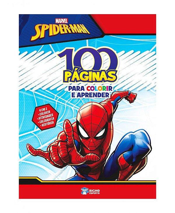 100 Páginas para colorir - Marvel - SPIDERMAN