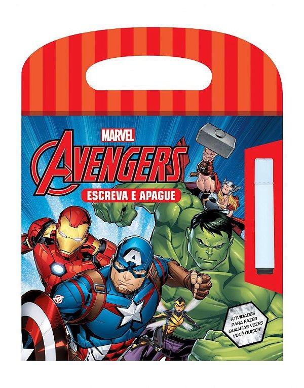 Marvel Escreva e Apague  - AVENGERS