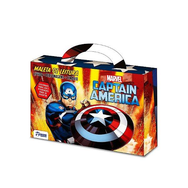 Marvel Maletinha Divertida -  CAPTAIN AMERICA
