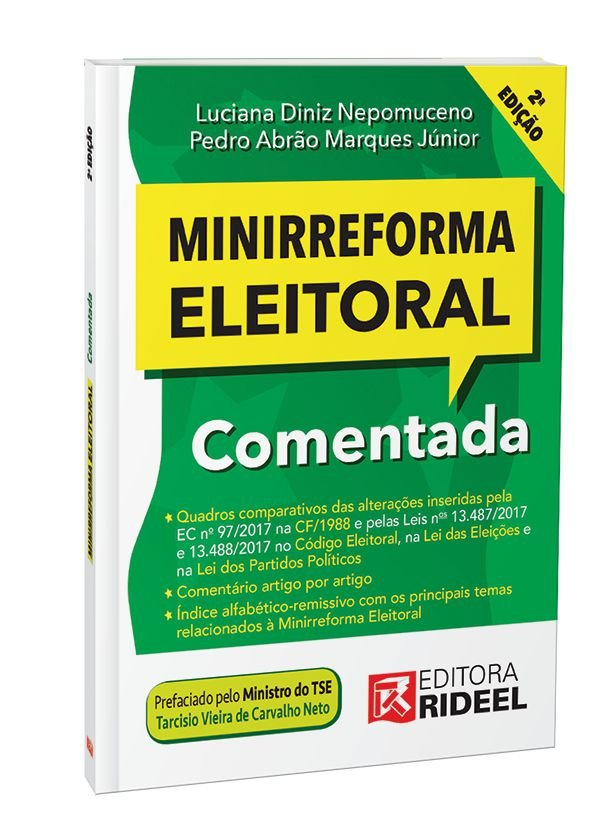 MINIRREFORMA ELEITORAL COMENTADA 2ED.