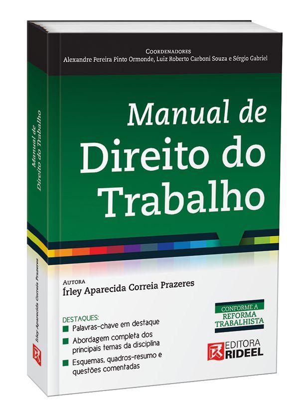 MANUAL DE DIREITO DO TRABALHO 1ED.
