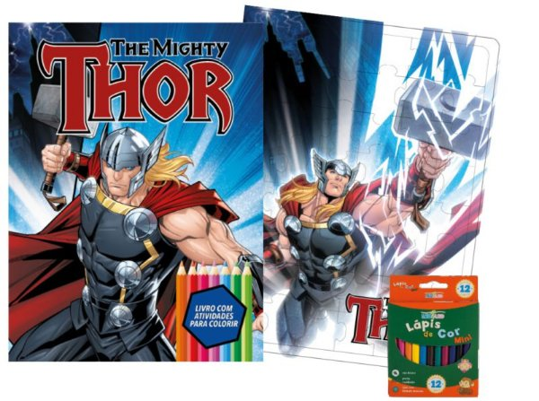 Marvel Kit Diversao - THOR