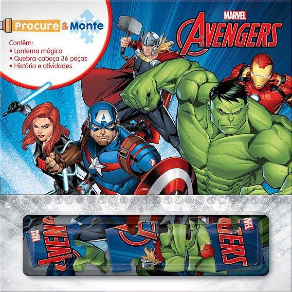Marvel Procure e Monte AVENGERS
