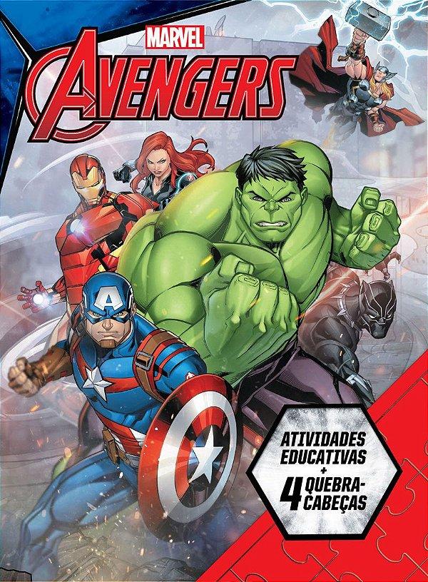 Marvel Aprender Brincando - AVENGERS