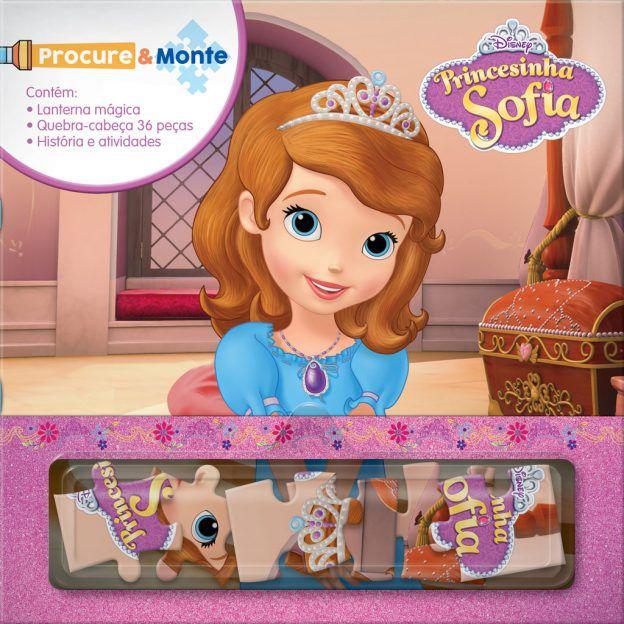 Disney Procure e Monte PRINCESINHA SOFIA