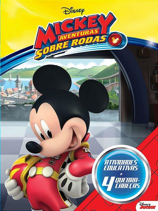 Disney Aprender Brincando - MICKEY AV.SOBRE RODAS