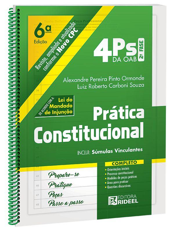 4Ps da OAB – Prática Constitucional - 6ª edição