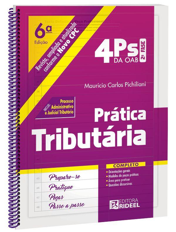 4Ps da OAB – Prática Tributária - 6ª edição