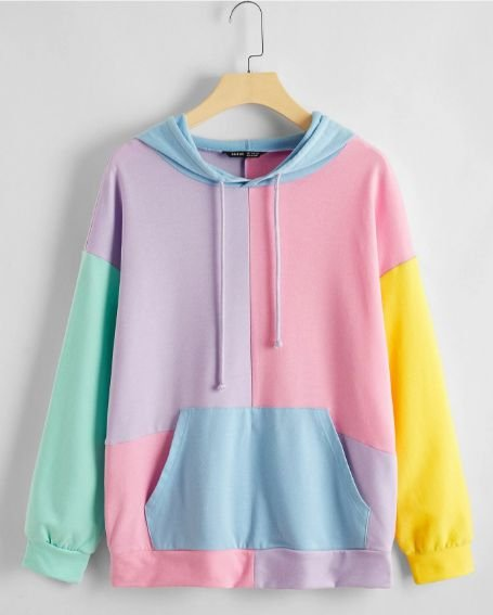 Blusa Moletom Candy Colors