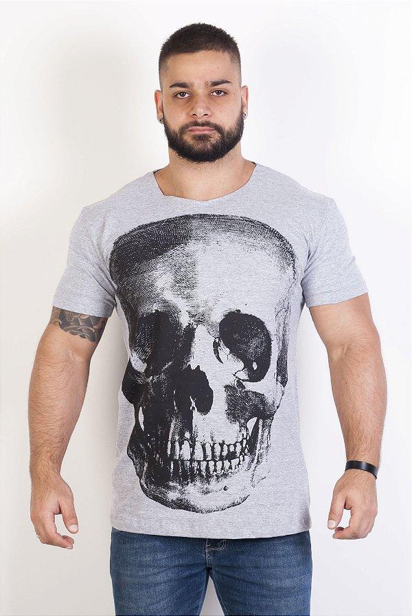 Camiseta Masculina - Caveira
