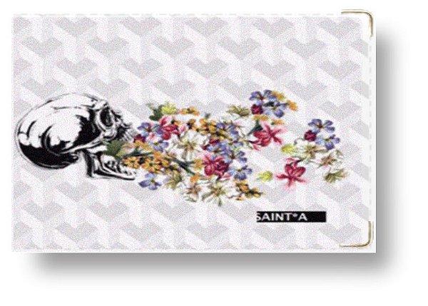 Carteira - Skull Flowers