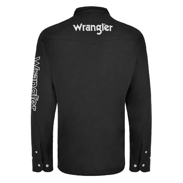 CAMISA WRANGLER PRETA WM13112PR