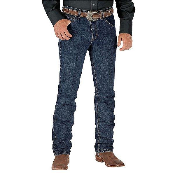 calça jeans cowboy cut slim fit wrangler 36mcvds36
