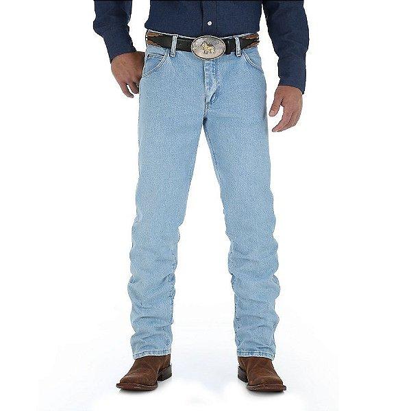 calça jeans cowboy cut regular fit wrangler 47m.wz.gh