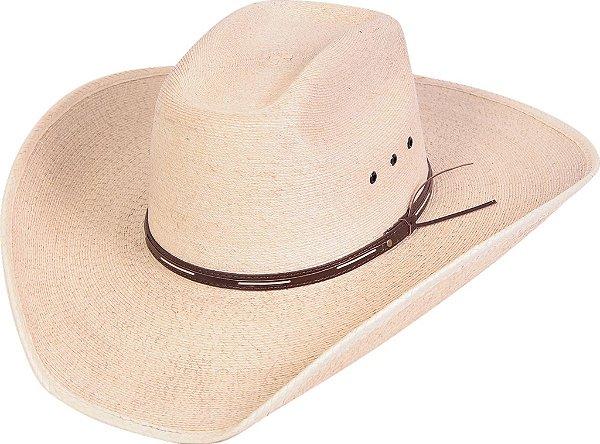 chapéu pralana 8 segundos palha palm - natural - 13497