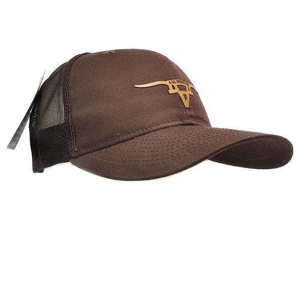 Boné Marrom Long Horn - All Hunter - Zona Country - Moda Country ... 802a08094a5
