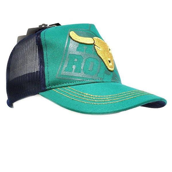 Boné Verde Hard Roper - Zona Country - Moda Country Masculino ... e734fac82ba