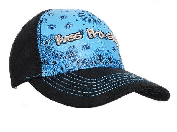 boné azul feminino bass pro shops