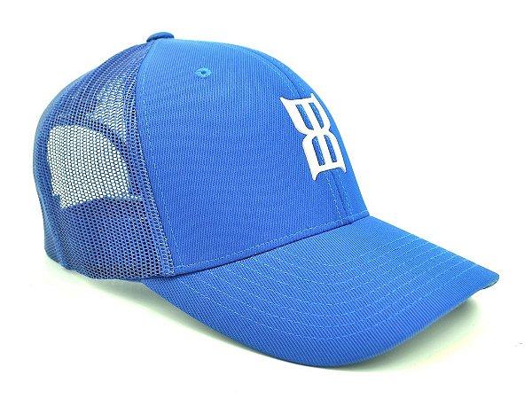 Boné Azul Tela Bex Importado - Zona Country - Moda Country Masculino ... e5ec5c9c8c4f4