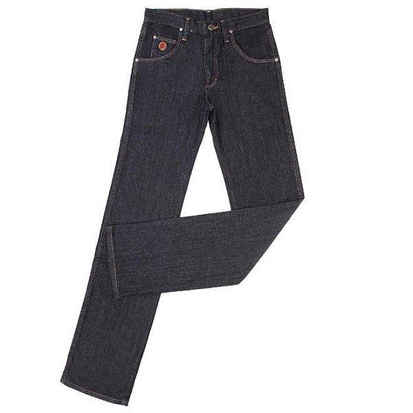 calça jeans slim fit elastano - wrangler 20x 25x.89.02.36