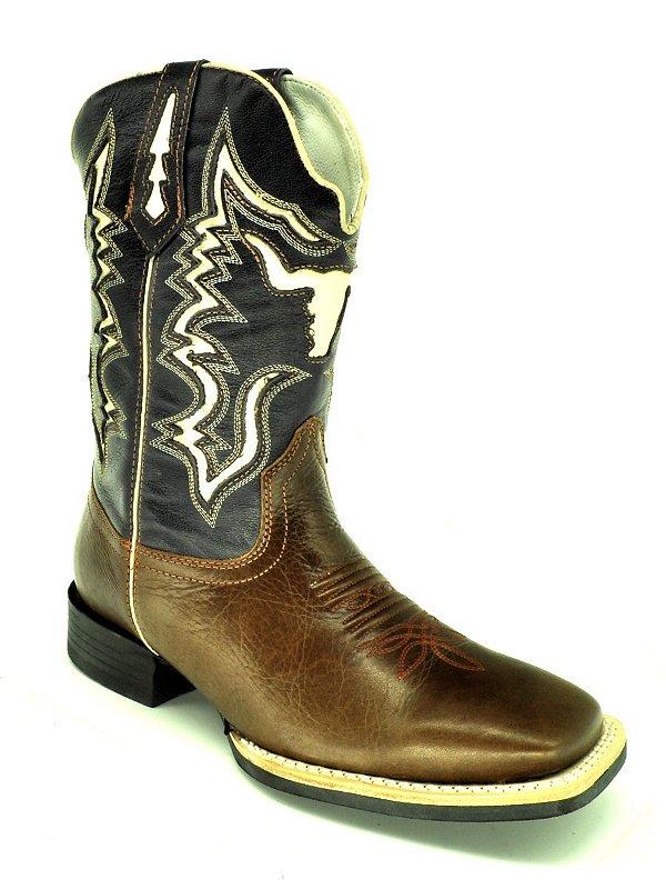bota masculina bico quadrado vimar west country 81186