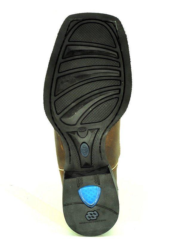 bota masculina bico quadrado vimar west country 81187