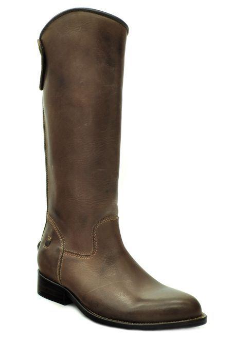 bota feminina de montaria com ziper vimar west country