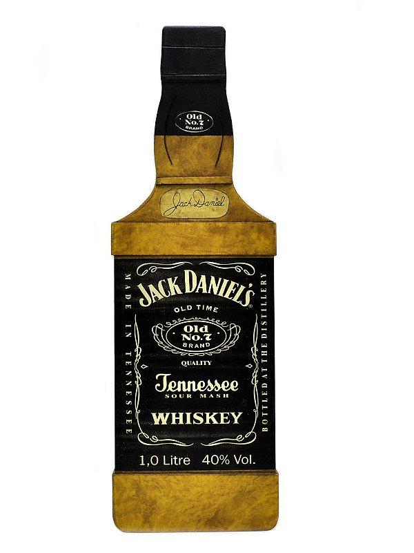 Quadro Decorativo Garrafa Jack Daniel'S - Grande