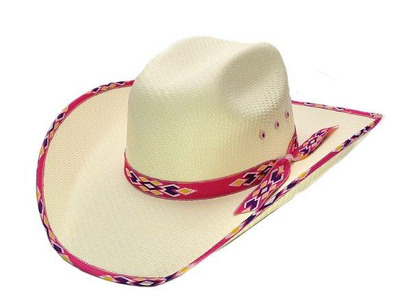 chapéu feminino infantil lone star