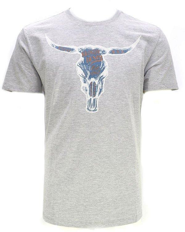 camiseta rodeo cinza 71480p6e - wrangler