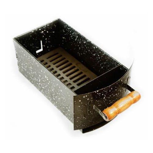 gaveta de carvão esmaltada apolo 8 - weber