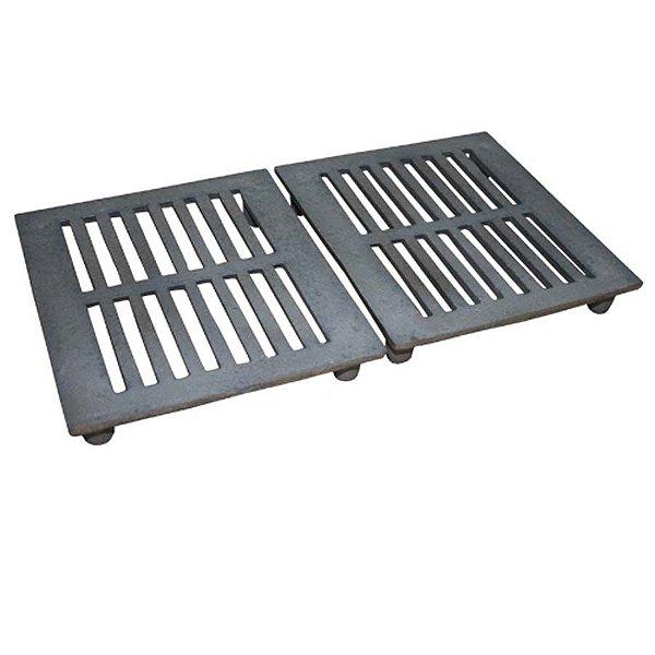 jogo de grelhas para carvão para apolo 11 (ferro fundido) - weber