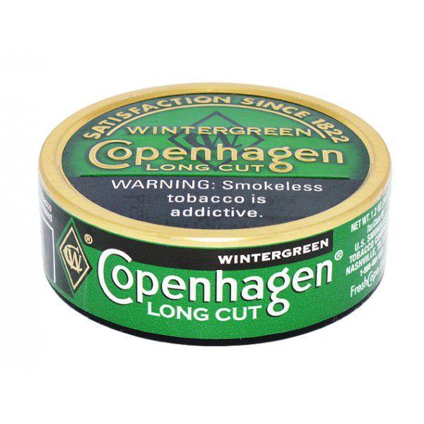 Fumo De Mascar Copenhagen - Long Cut  Wintergreen