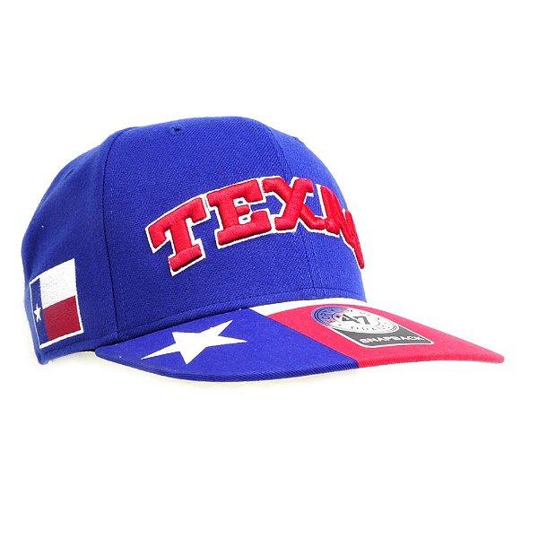 Boné Texas Azul - Forty Seven Brand - Zona Country - Moda Country ... 04f8e169d28