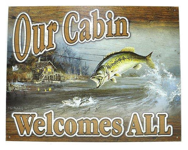 Quadro Na Lata Sem Moldura 41 X 32 Cm - Our Cabin